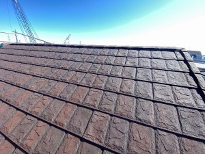 カバー工法により屋根を一新