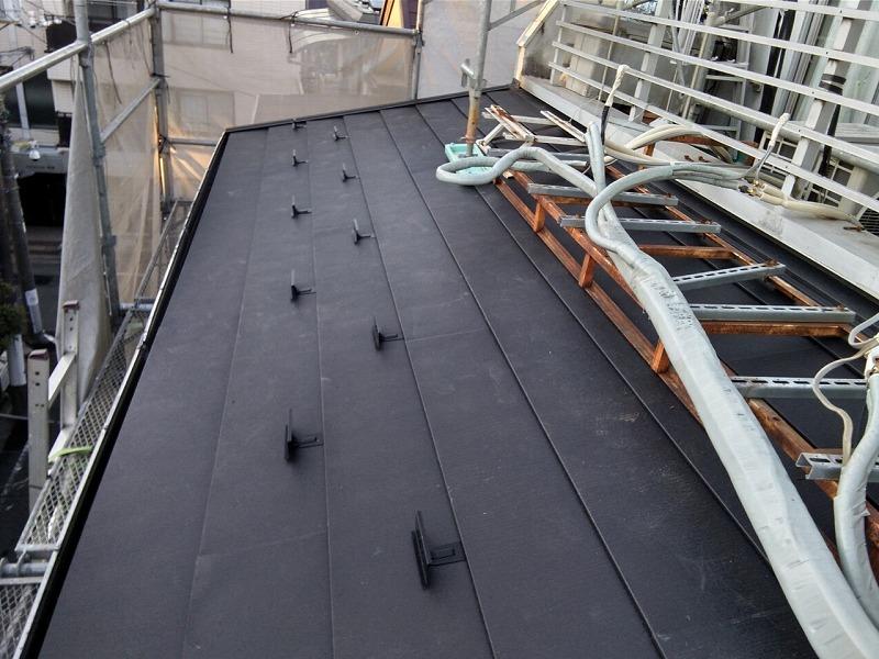 屋根上の設備・・・